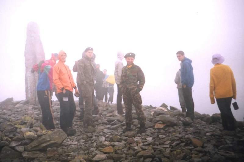КВТ 2002, мандрівка на Сивулю