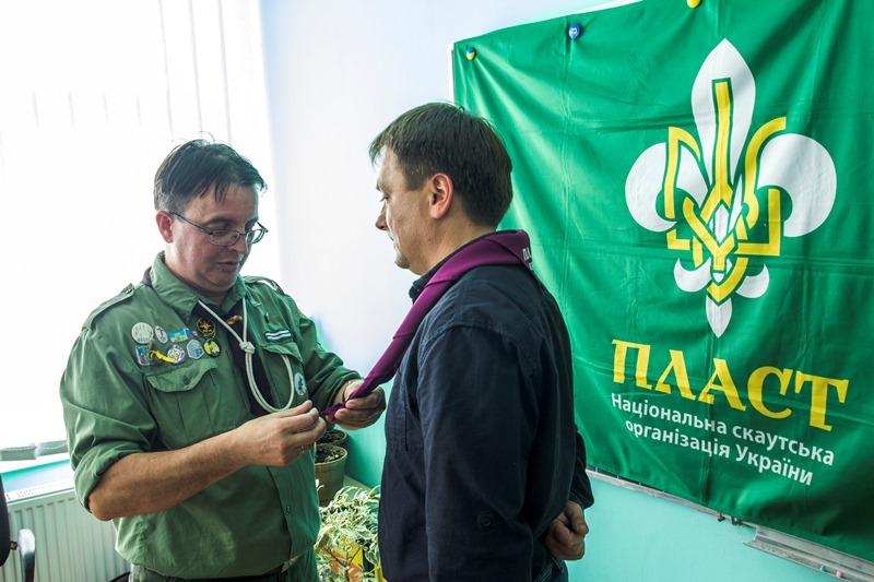 Новий член Пластприяту в Хуст - Тарас Поп