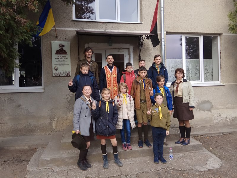Мурлики взяли участь у відкритті меморіальної дошки Богданові Макарушці