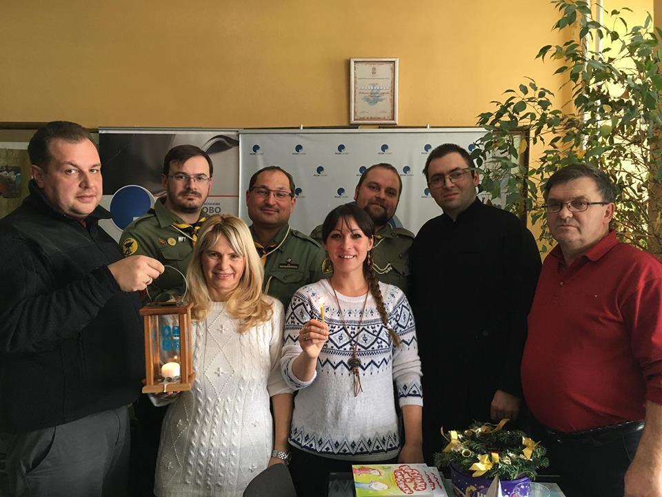 """У редакції """"Руського слова"""", Новий Сад"""