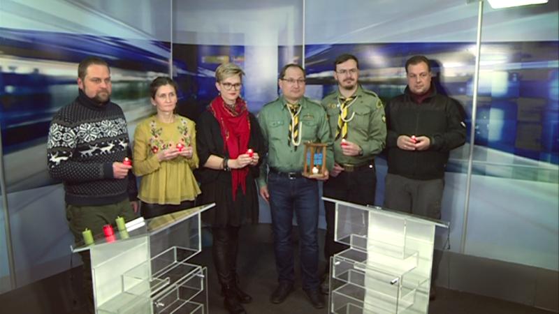 Передача Вогню українцям у м. Клуж, Румунія