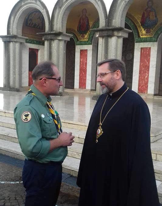 Блаженніший Святослав та Ростислав Добош