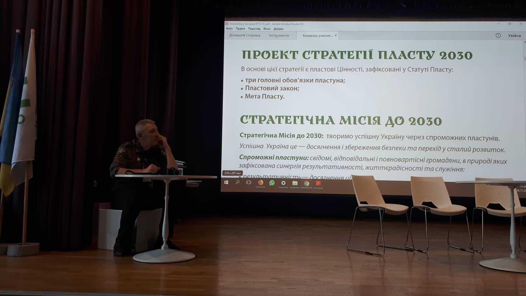 Ознайомлення зі стратегією 15 КПЗ у Києві, 24-25.11.2018
