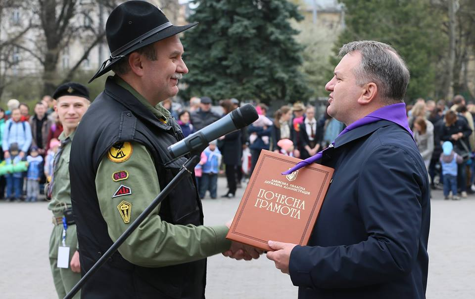 Хитрого Нява нагородили Почесною Грамотою