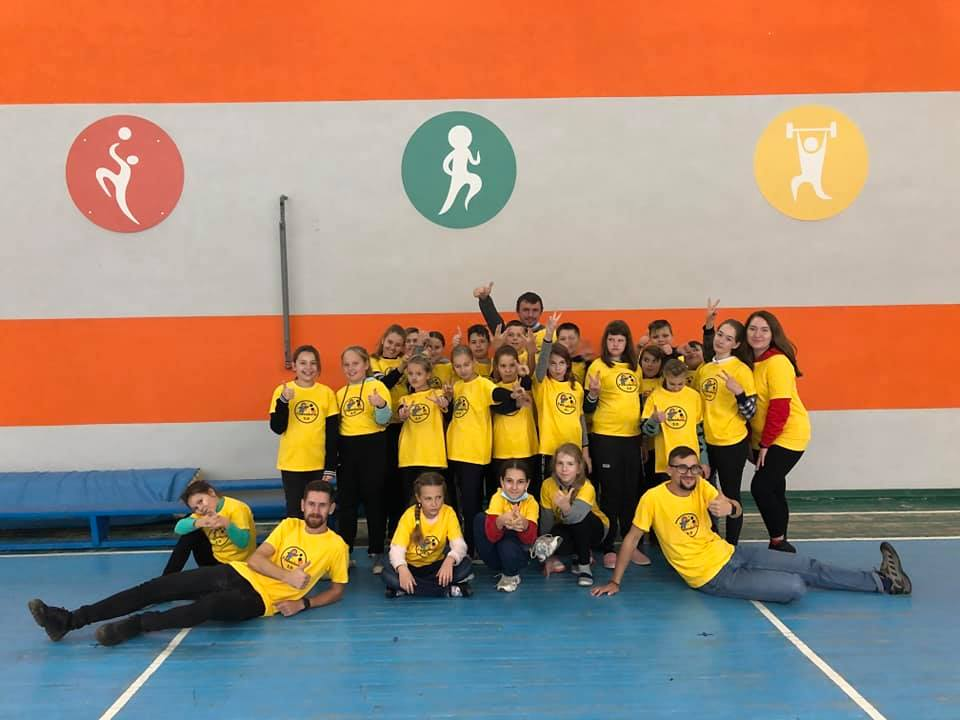 Рівненська зграя ЦМ долучилась до організації та проведення табору для дітей з Авдіївки в самій Авдіївці