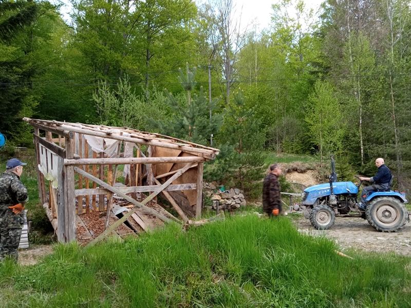 Мурлики упорядковували оселю Сокіл до літнього таборування