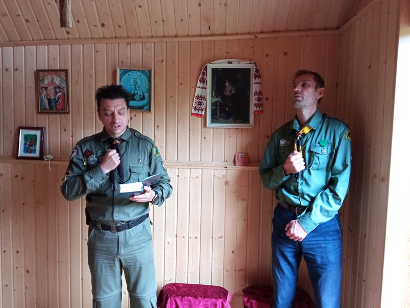 Святкова збірка ЦМ на Соколі з нагоди 30-ліття куреня